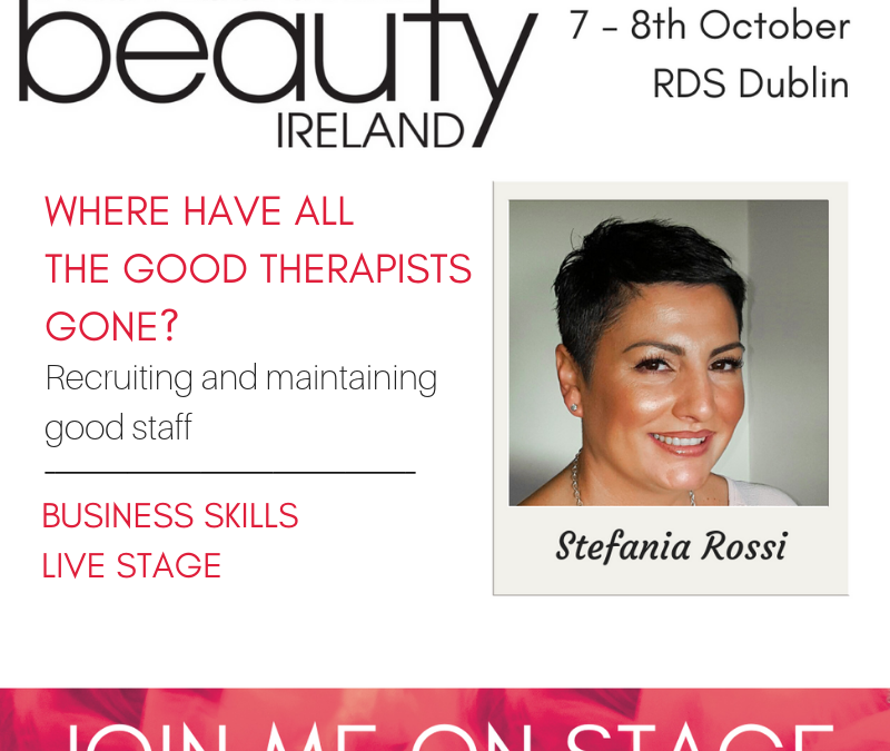See Stefania Rossi at Pro Beauty Ireland