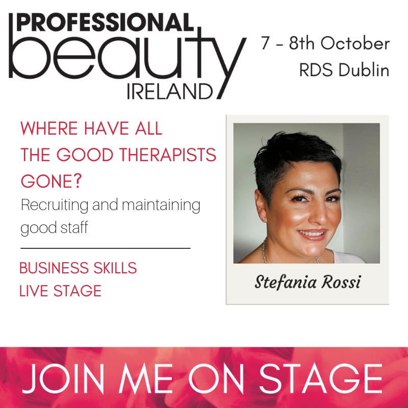 Stefania Rossi Professional Beauty Ireland